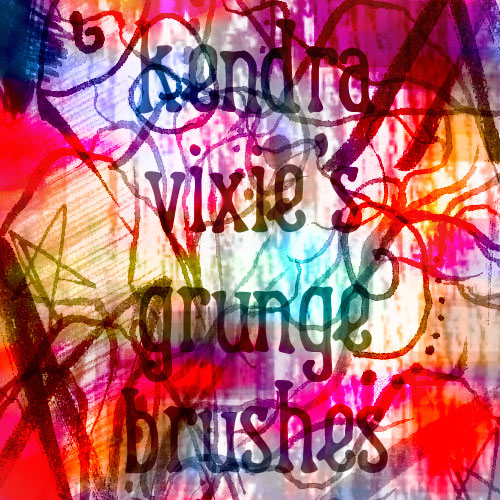 Grunge Brushes by Kendra