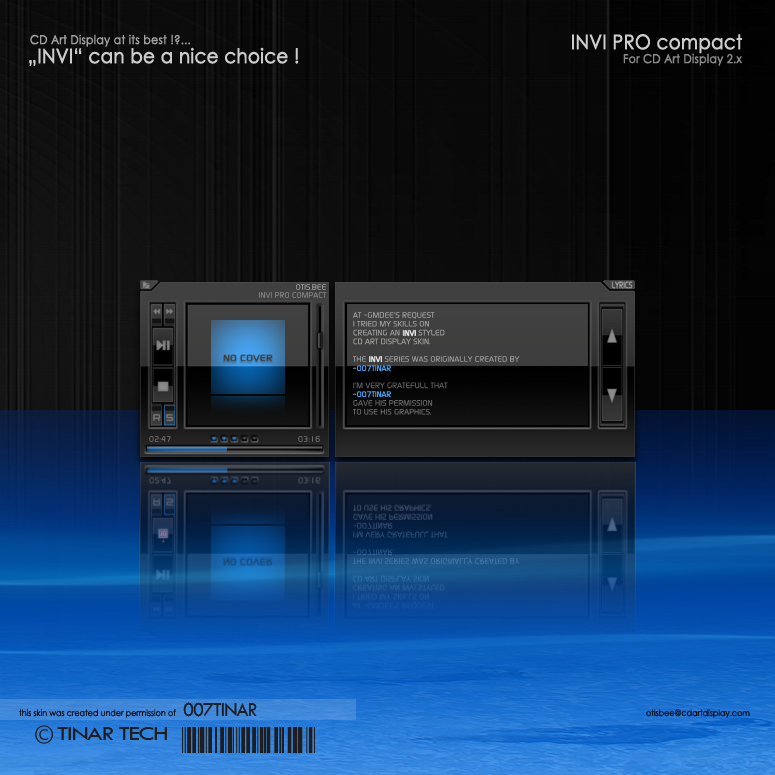 Invi pro compact by otisbee on deviantart for Skin it fish skinner