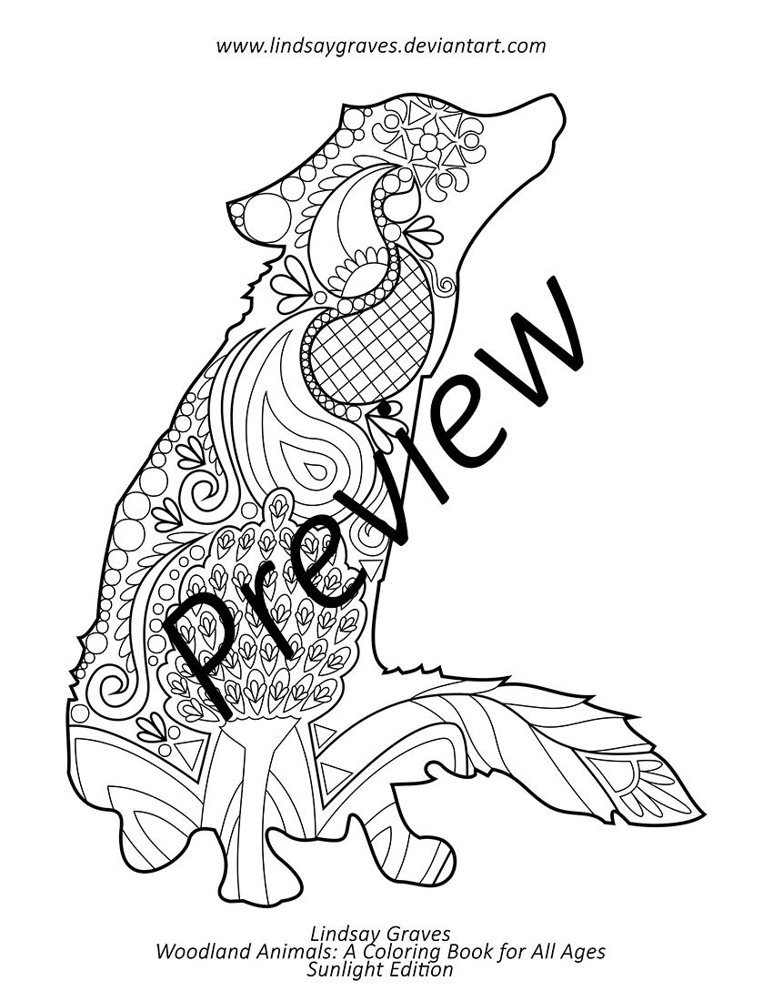 Amazon Animals Coloring Pages