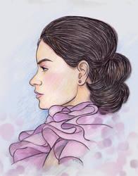 Swirls in Pink by JyotiRaut