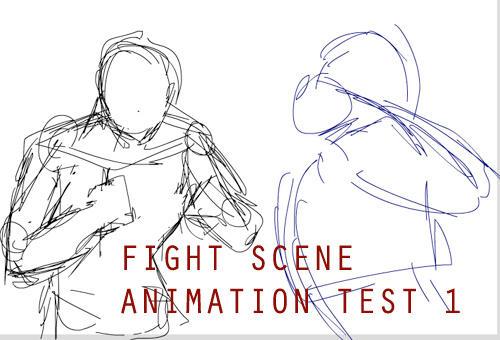 WIP: Fight Scene Test 1