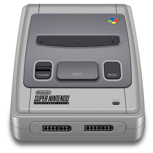 Super Nintendo Icon updated by idumbi on DeviantArt