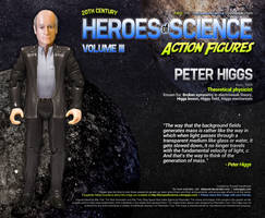 Heroes of Science: Peter Higgs
