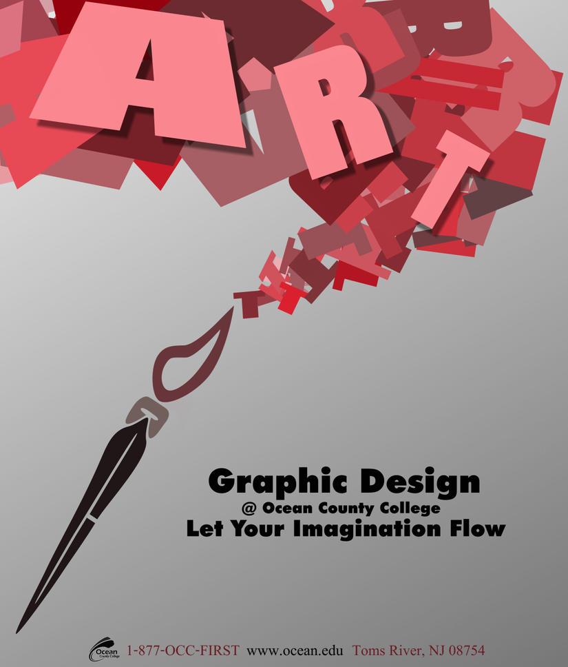 Poster design deviantart - Graphic Design Poster By Mazzy12345
