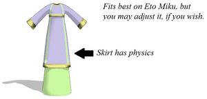 MMD Request - Byzantine's Dress