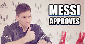 Messi Approves GIF