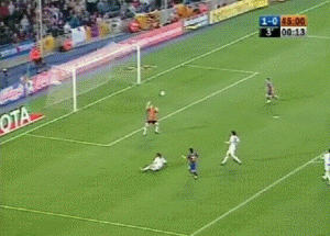 Messi S First Goal Gif By Lord Iluvatar On Deviantart