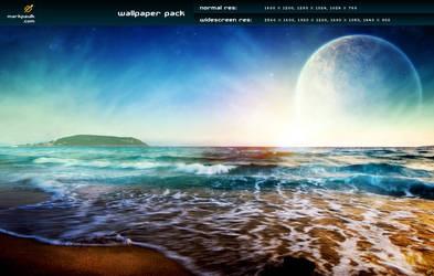 the beach v4 - wallpaper pack by mpk2