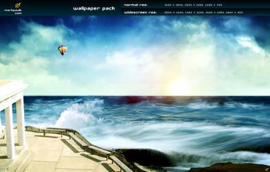 the beach v5 - wallpaper pack
