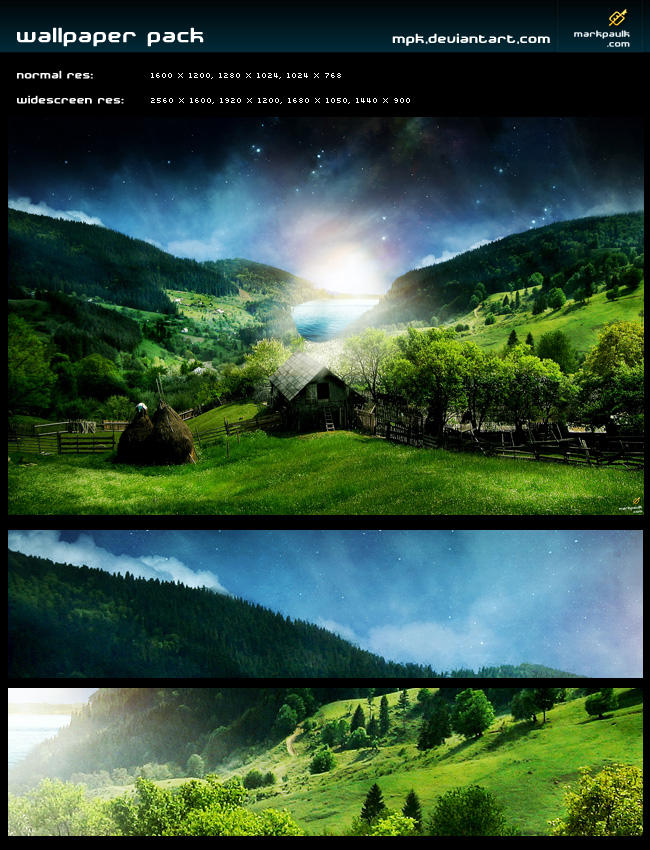 hillside - wallpaper pack