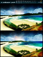 shore v2 - 2prt wallpaper pack by mpk2