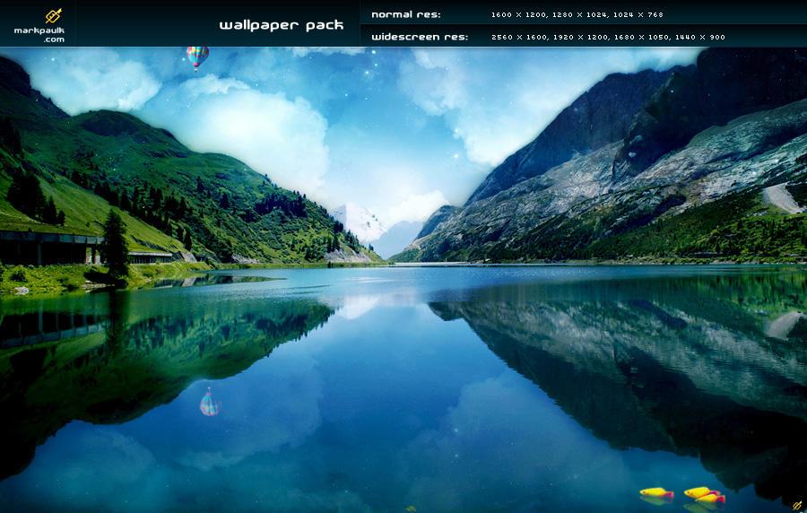 lakeside v3 - wallpaper pack