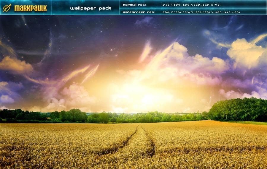 field - wallpaper pack by mpk2