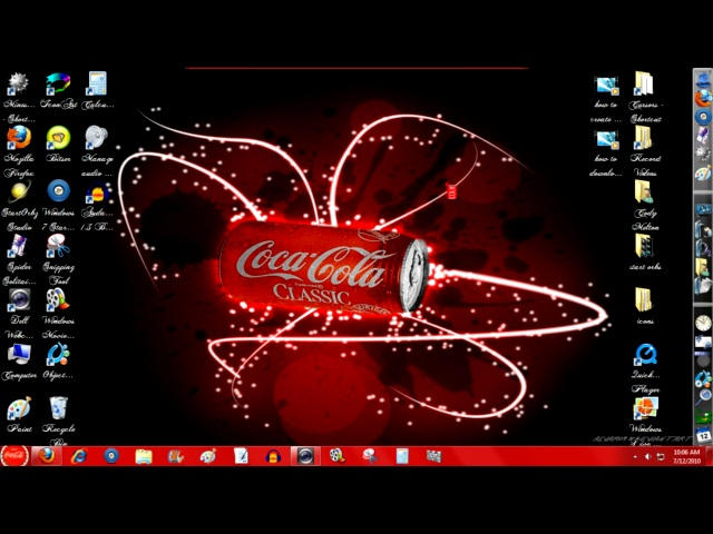 coca-cola windows 7 theme by codym95
