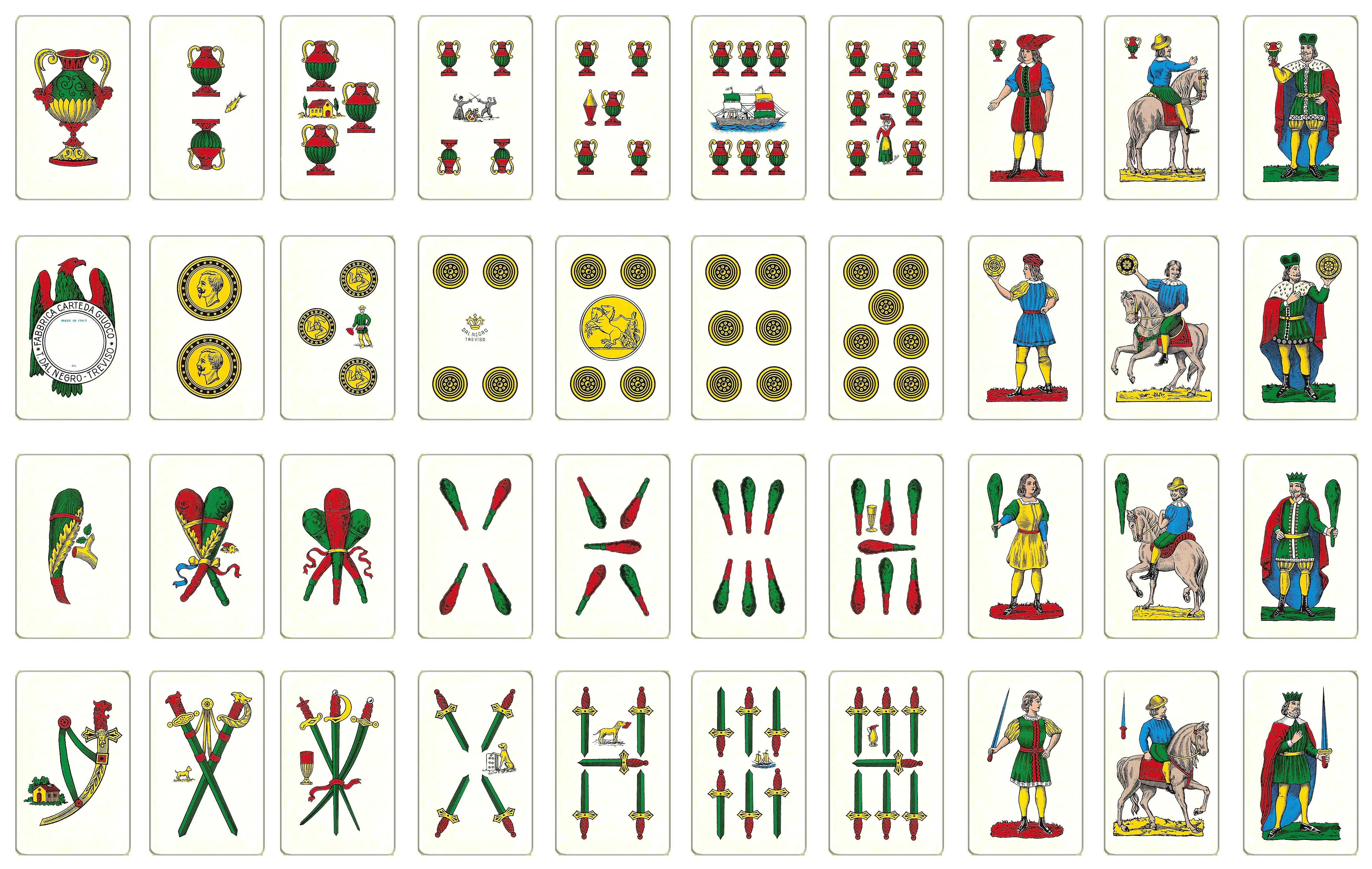 Briscola carte siciliane