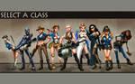 Select A Class... Blu - WP
