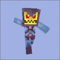 Minecraft Skeletor Skin by MetalFrog