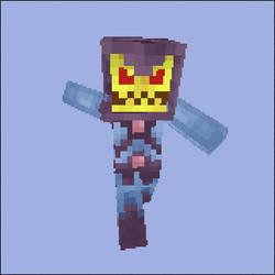 Minecraft Skeletor Skin