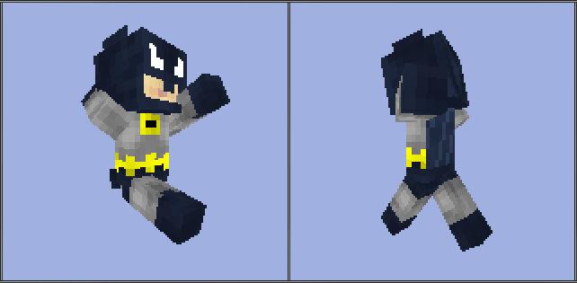 Minecraft Batman Skin