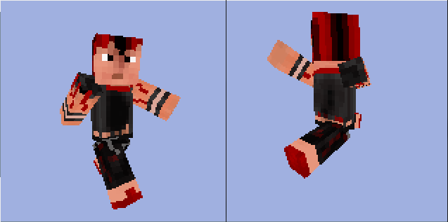 Rufio - Minecraft Skin by MetalFrog