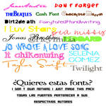 Fonts Pack