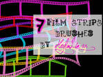 7 Film Strips Brushes
