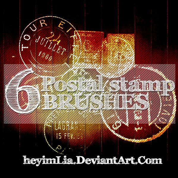 Postal Stamp Brushes