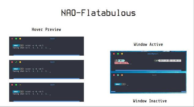 [Openbox Theme] NAO-Flatabulous