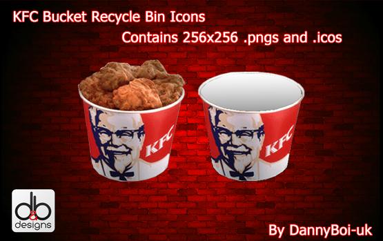 Kfc Bucket Funny: KFC Bucket Bin By DannyBoi-uk On DeviantArt