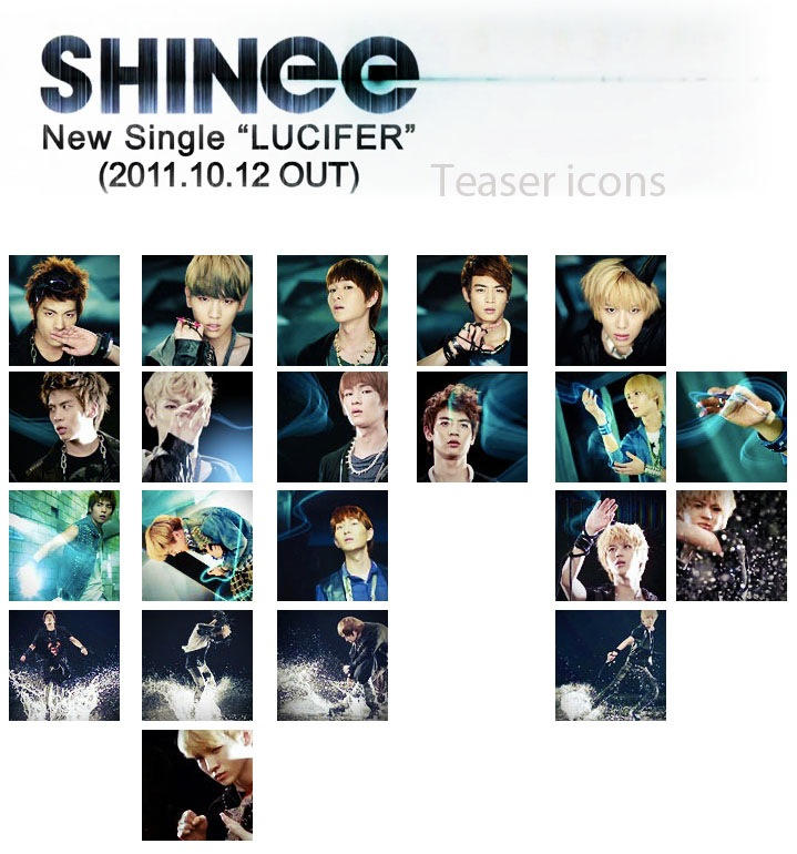 Shinee Jap Lucifer Teaser Icon By E11ie On DeviantArt