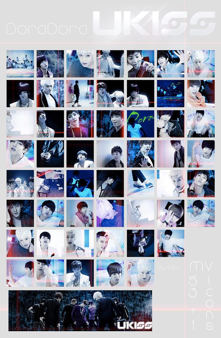 U-Kiss DoraDora mv icon pack 54 by e11ie