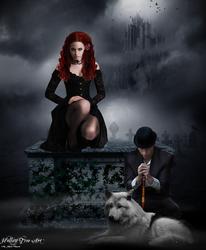 Dracula's Castle by Kristenolejarnik