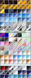 6000+ Photoshop gradients and shapes by ilnanny