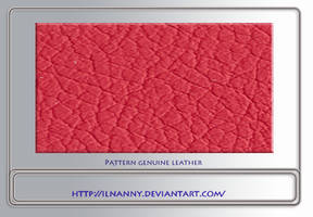 Genuine leather pattern by ilnanny