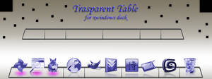Trasparent Table by ilnanny