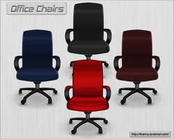 Office Chairs by ilnanny