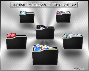 Black Folder Honeycomb