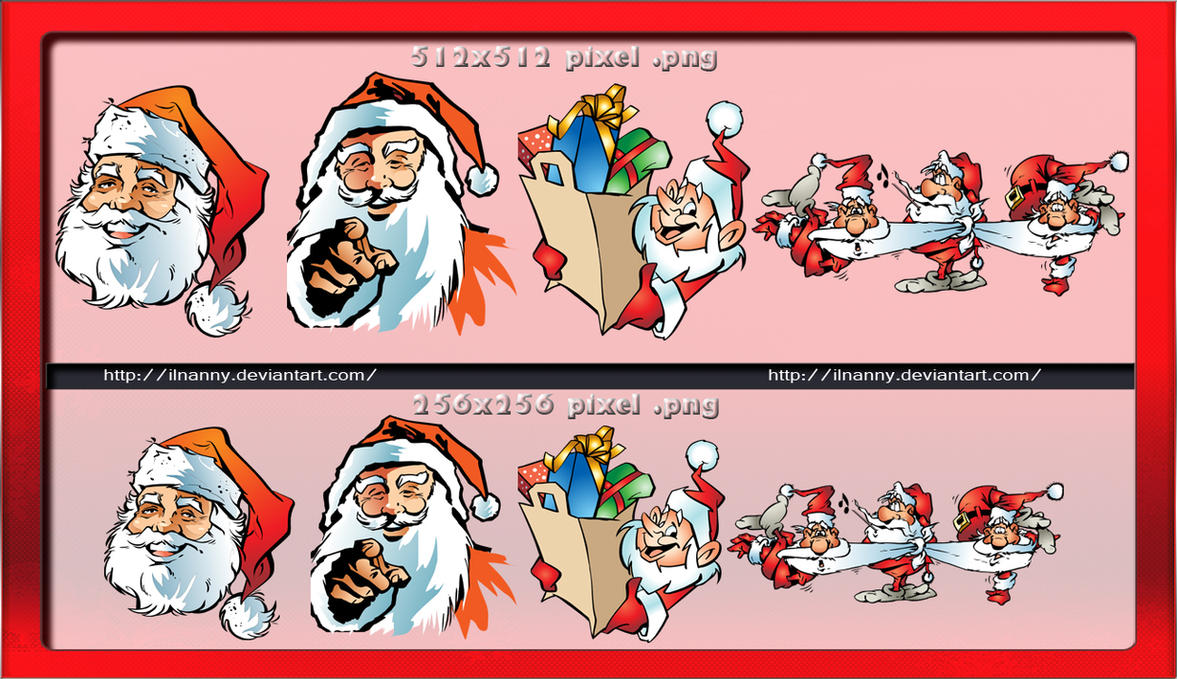 Santa Claus iconpack by ilnanny