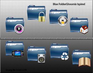 Blue Folder by ilnanny
