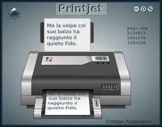 PrintJet icon by ilnanny
