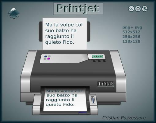 PrintJet icon