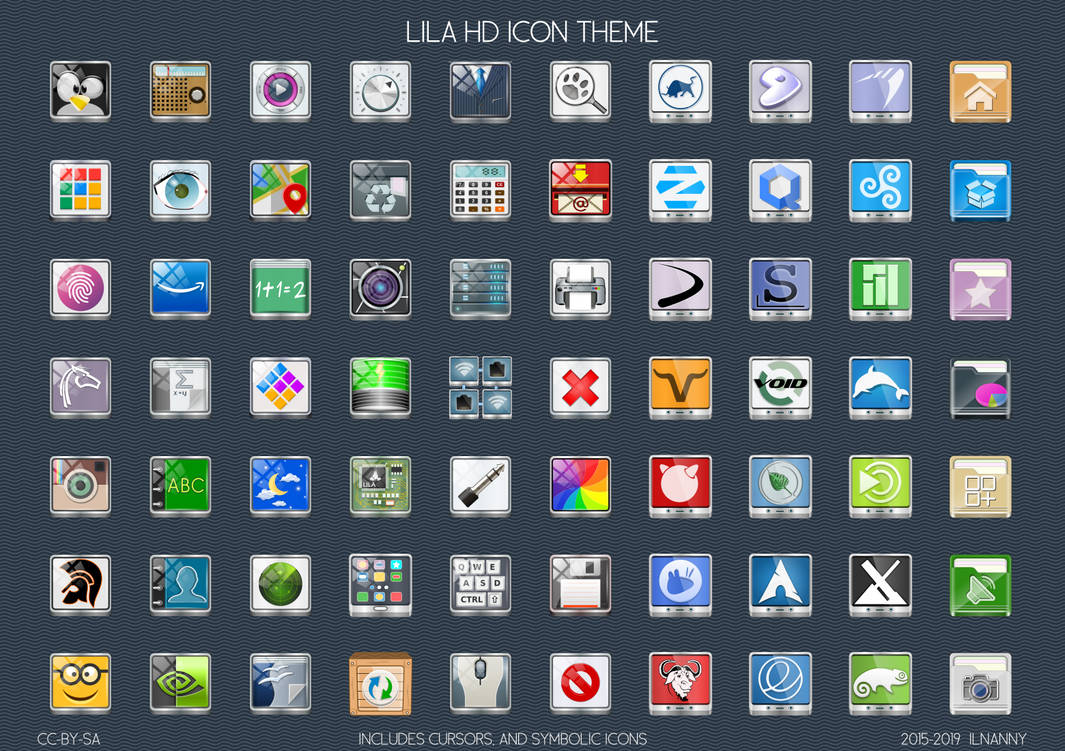 Lila HD icon-theme