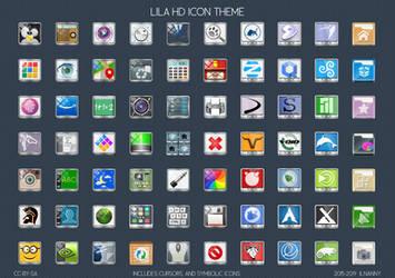 Lila HD icon-theme by ilnanny