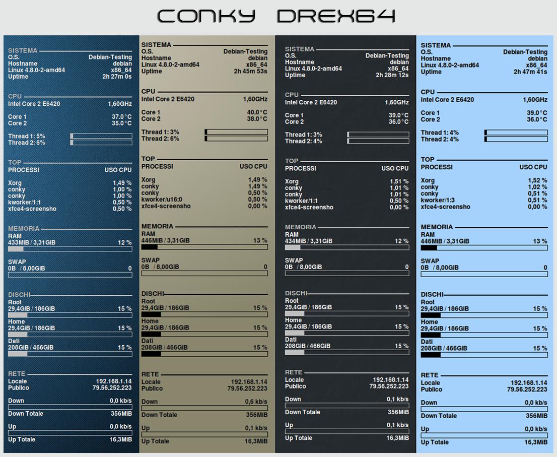 Conky DREX64