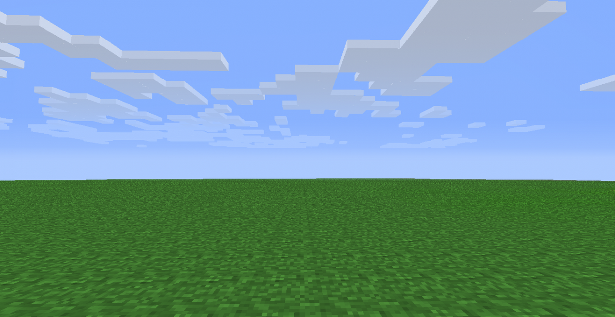 flat grass map for minecraft by pempengcoswift13 on deviantart