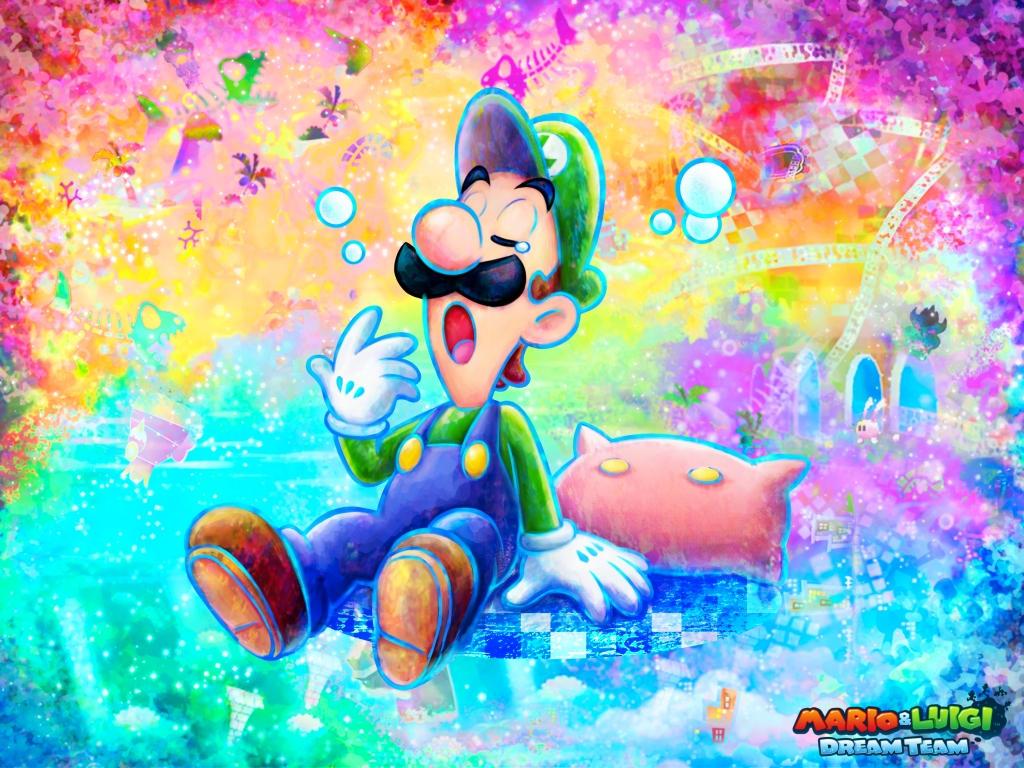 Mario And Luigi Dream Team Custom Wallpaper By Lulikat15 On Deviantart