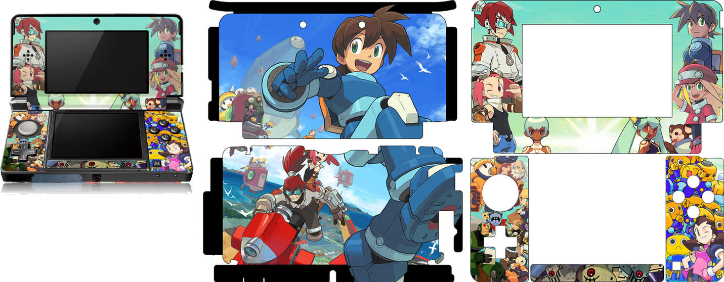 Megaman Legends 3 3DS Skin by ArcAngeRaziel