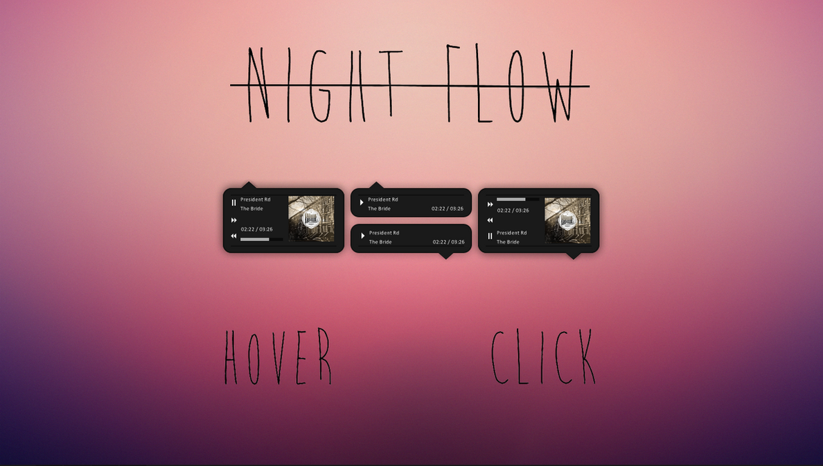 Night Flow by Bradd9