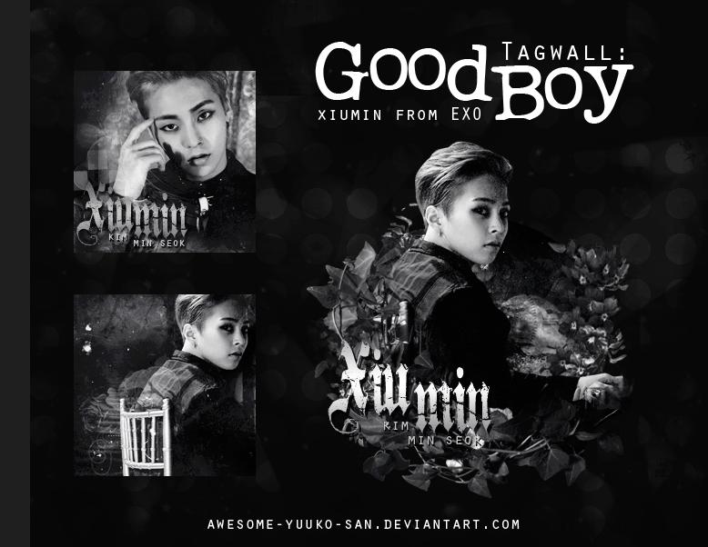 Good Boy - Xiumin |EXO| [Tagwall] by Awesome-Yuuko-San