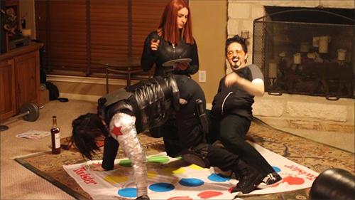 Tony Stark Can't Play Twister